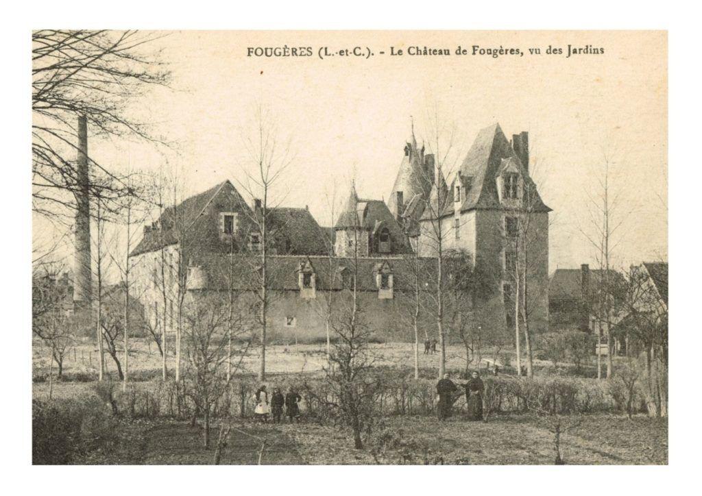 carte postale de Fougères sur Bièvre